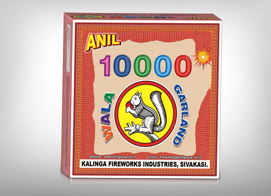 Anil 10000 wala Garland Firecrackers