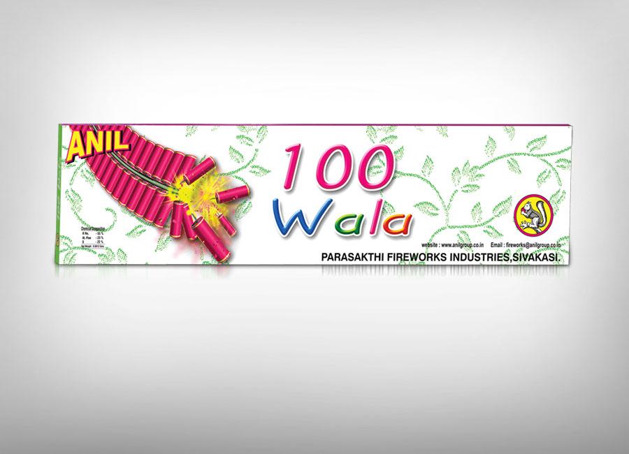 Anil 100 wala Garland Firecrackers
