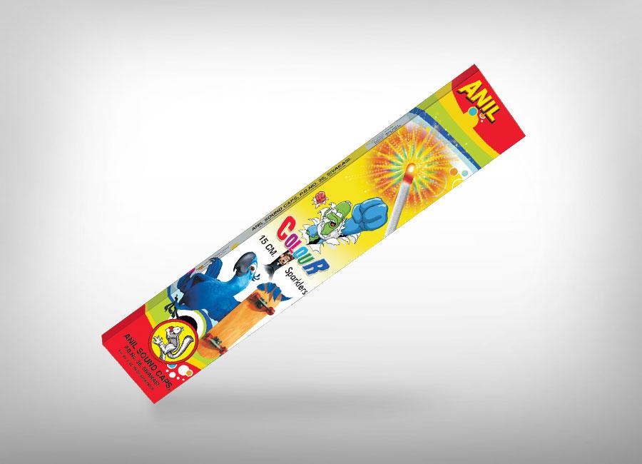 Anil 15 cm Color Sparklers