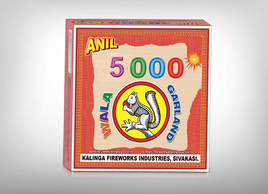 Anil 5000 wala Garland Firecrackers