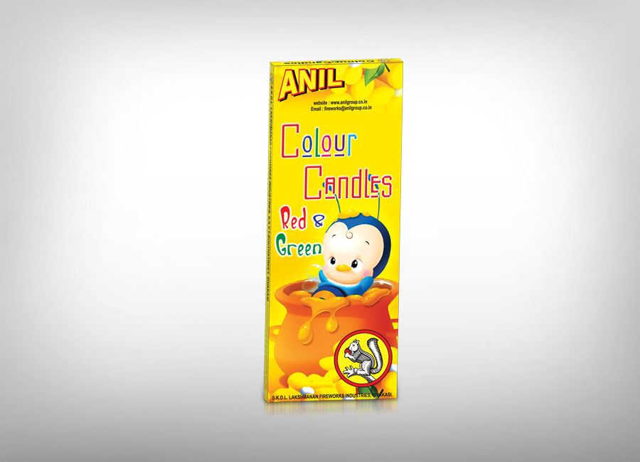 Anil Color Candles
