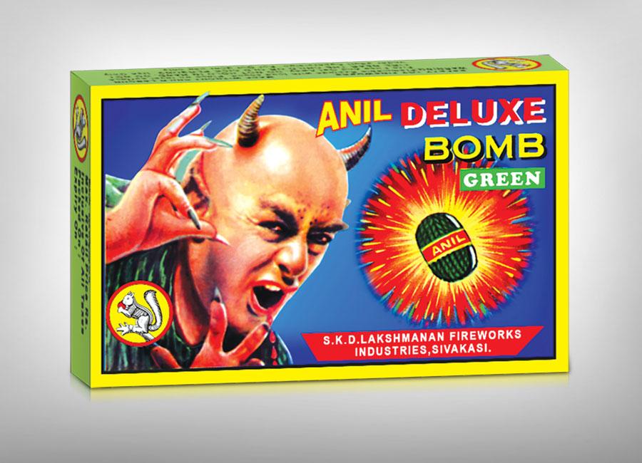 Anil Deluxe Green Bomb
