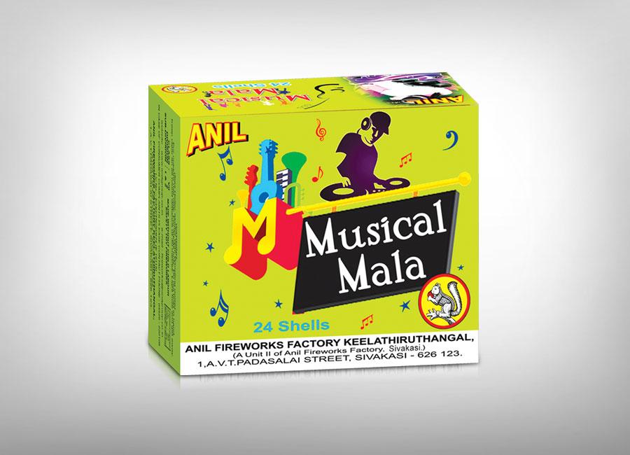 Anil Musical Mala 24 Shells